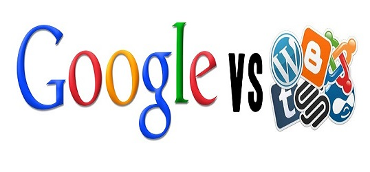 GOOGLEVSBLOGS