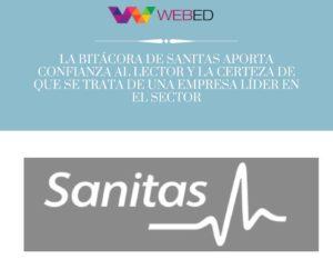 La bitácora corporativa de Sanitas