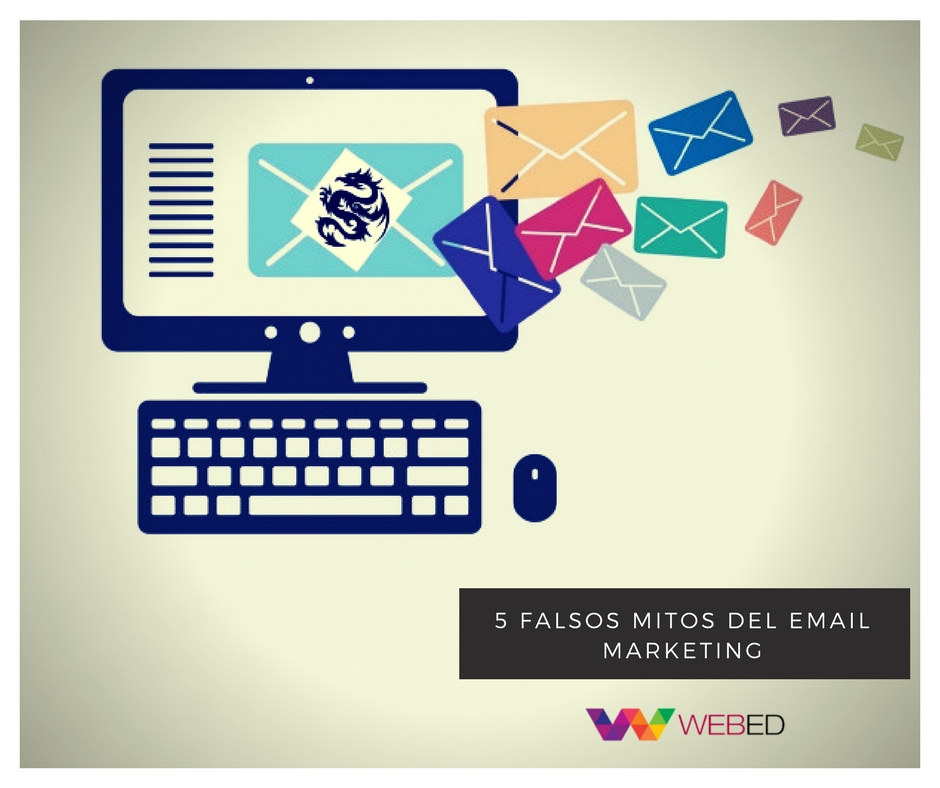 5 falsos mitos del email marketing